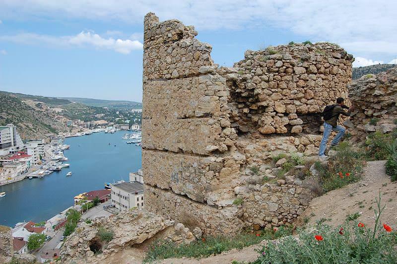 остатки крепости балаклава