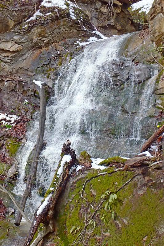водопады на реке кутанка