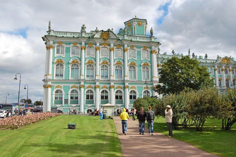 зимний дворец петербург