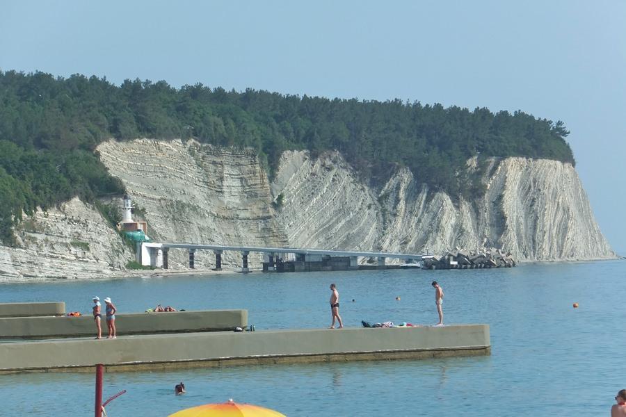 пляж дивноморское