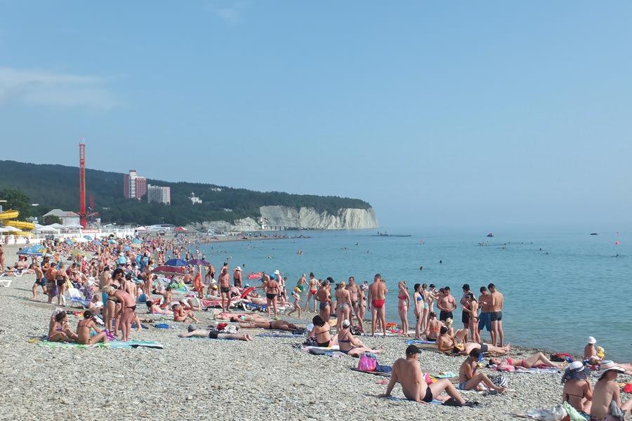 пляж радуга дивноморское