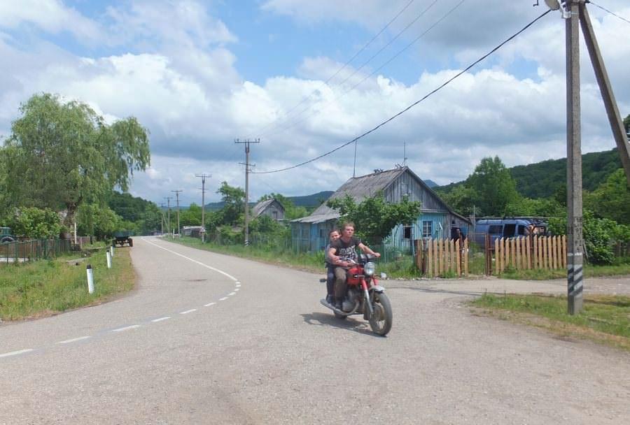 мотоциклист село садовое