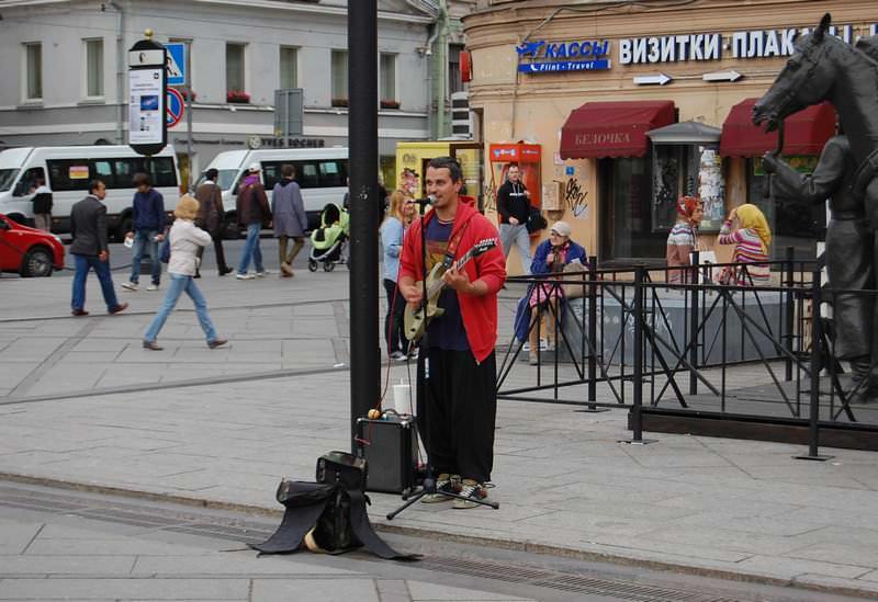 петербург музыкант