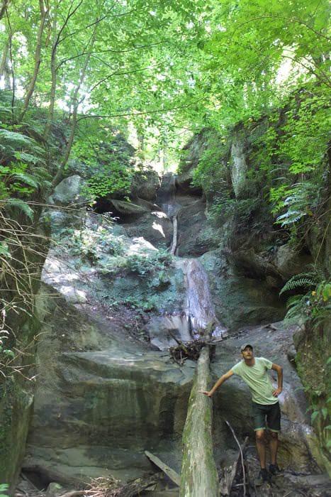 водопад на ручье мальцева