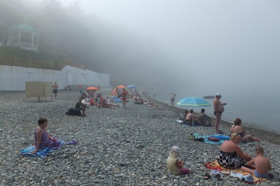 пляж джанхот