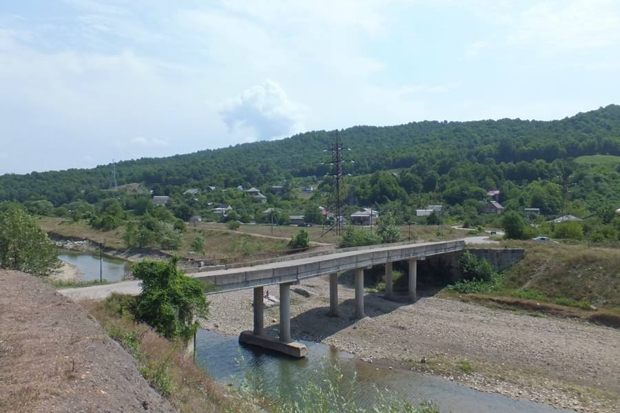 мост через туапсе