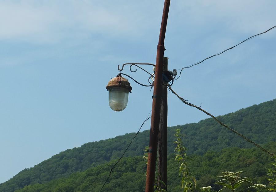 уличная лампа