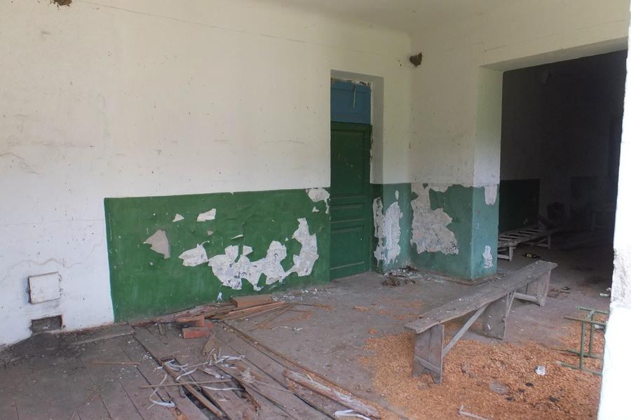старая сельская школа