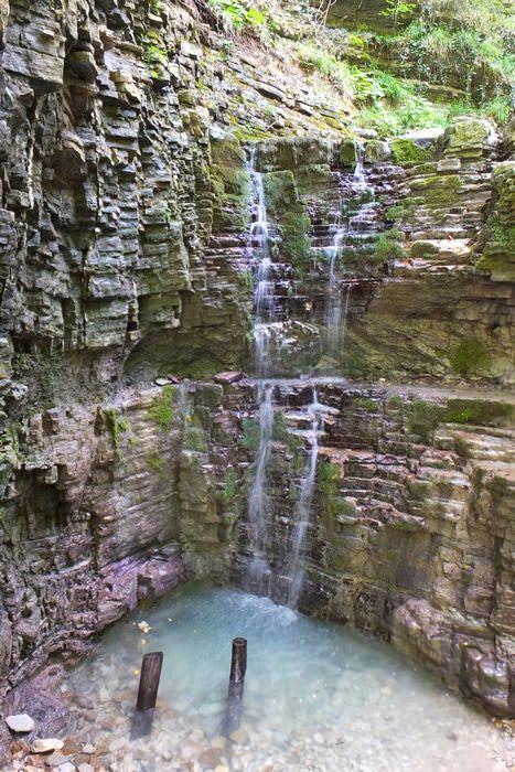 водопады наджиго