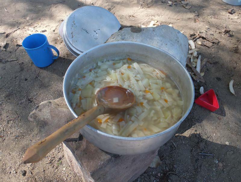 походный суп