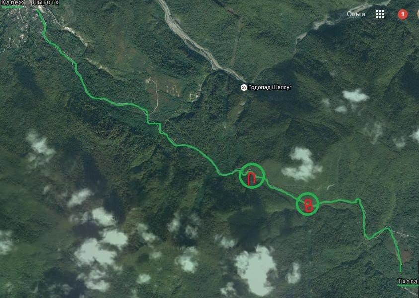 карта водопад игристый